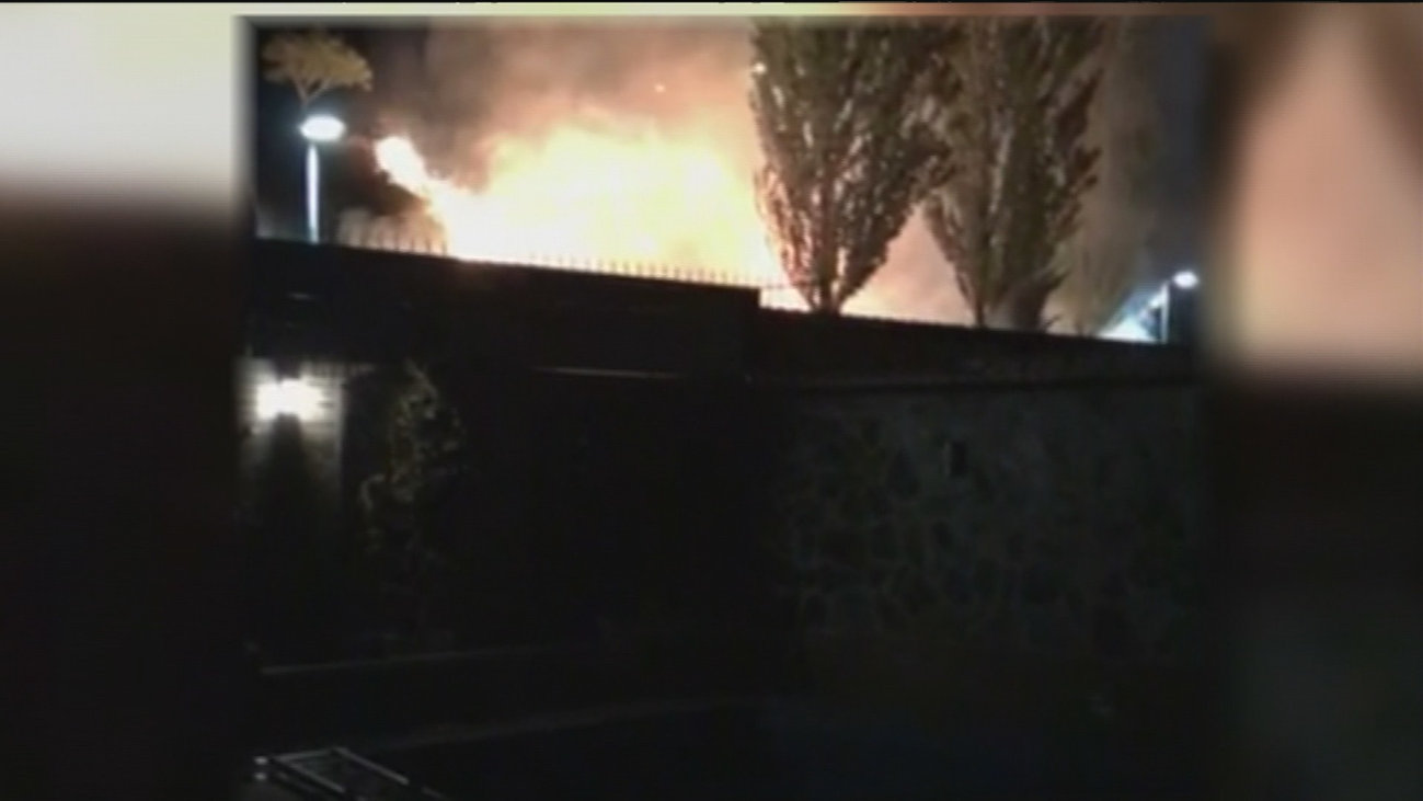 Susto en Arroyomolinos con un incendio que estuvo a punto de afectar a varias viviendas