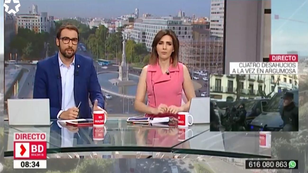 'Buenos Días Madrid' gana el premio CIRCOM de las televisiones públicas europeas al mejor programa informativo