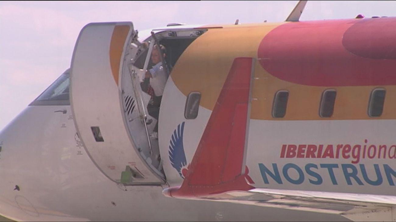 Air Nostrum y Sepla alcanzan un acuerdo que pone fin a la huelga