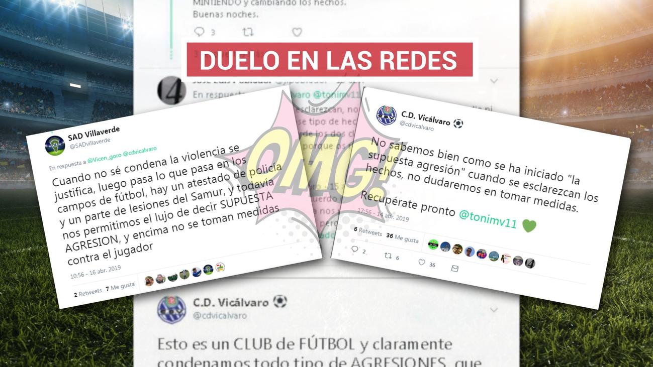 Lío en el Vicálvaro-Villaverde, con una particular prórroga en las redes sociales