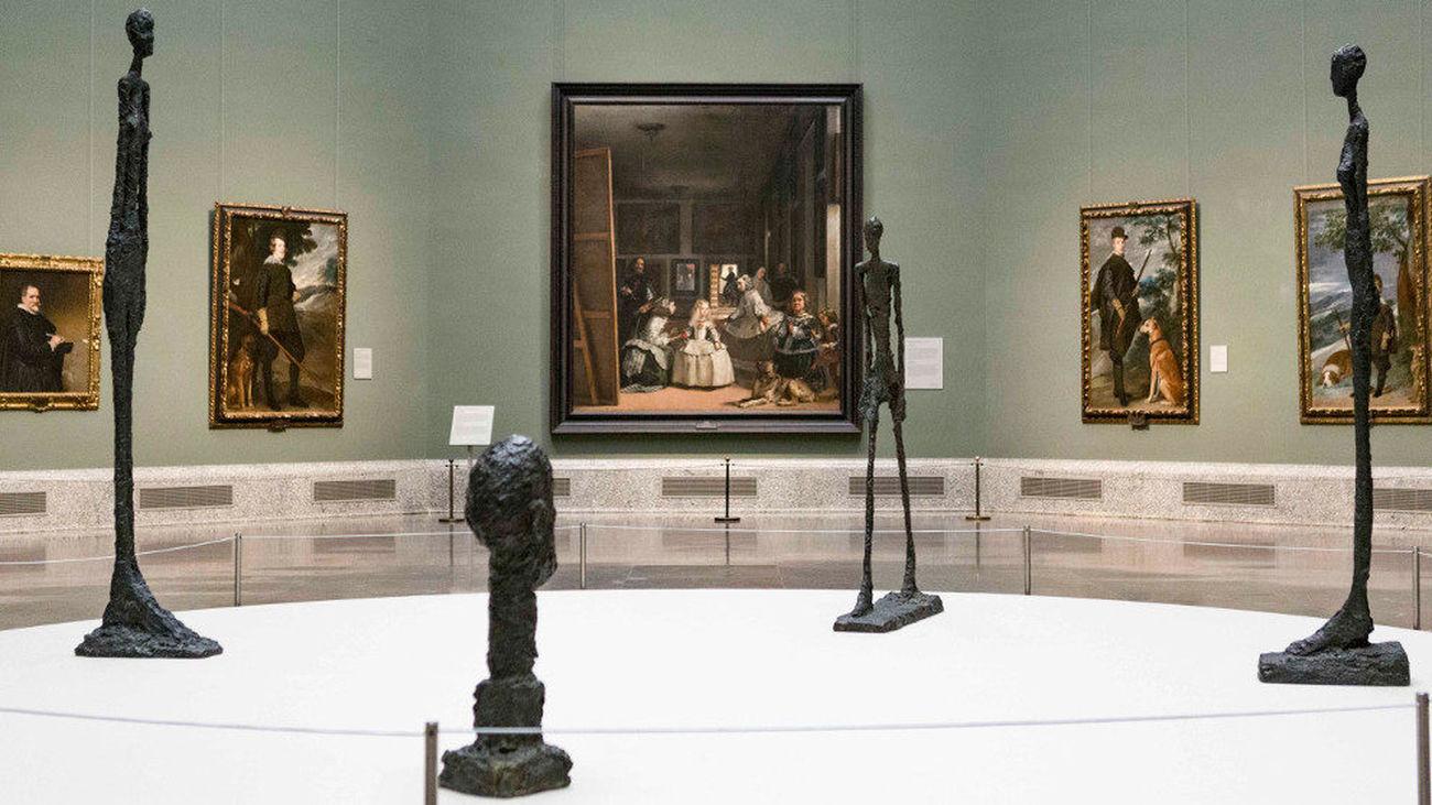 Giacometti en el Museo del Prado