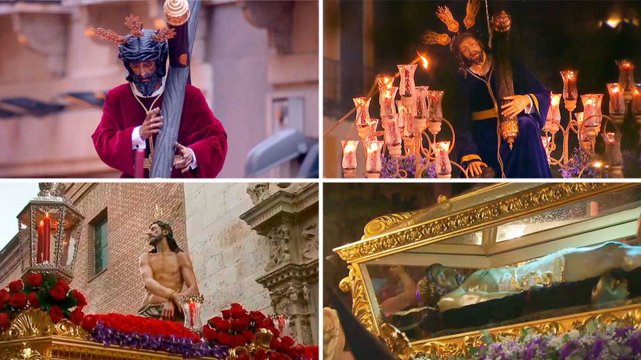 Semana Santa de Madrid: Miércoles Santo - Primera Parte