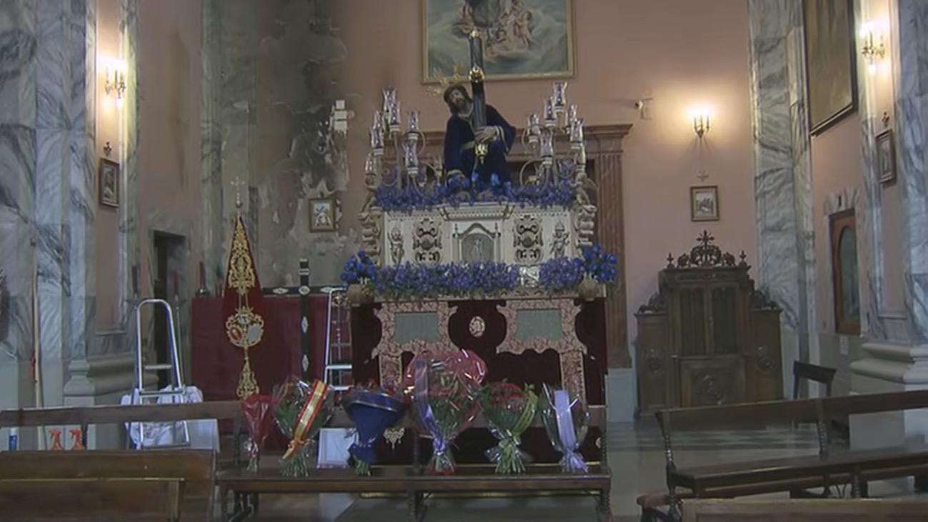 La joven procesión Tres Caídas lista para el Miércoles Santo