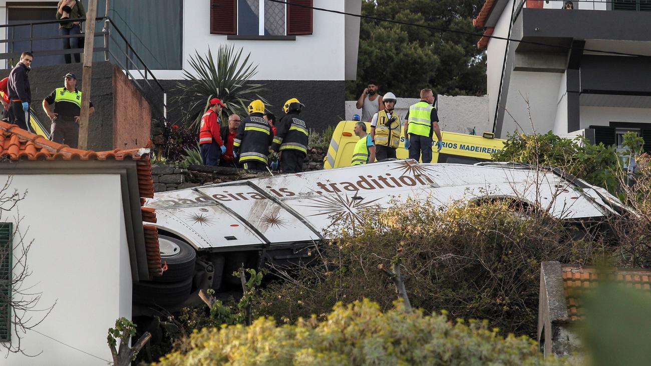 Mueren 29 personas, en su mayoría turistas alemanes, en un accidente de autobús en Madeira