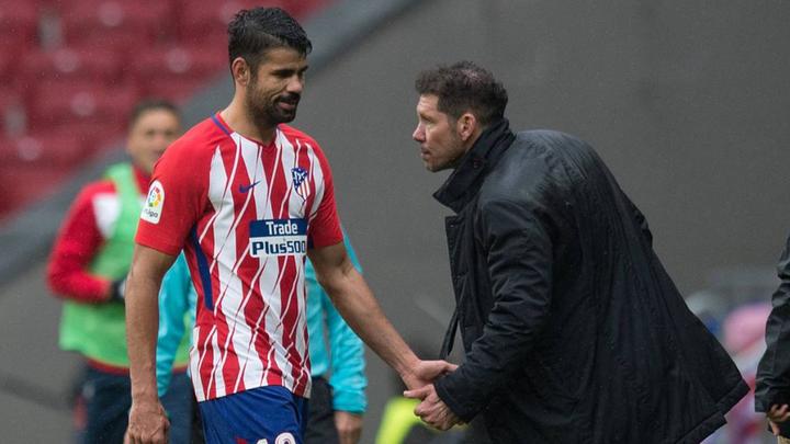 """Simeone: """"El asunto Costa está resuelto"""""""