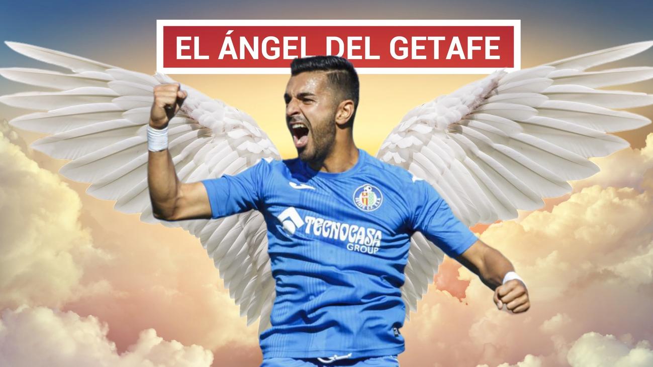 Ángel sueña con jugar la Champions con el Getafe
