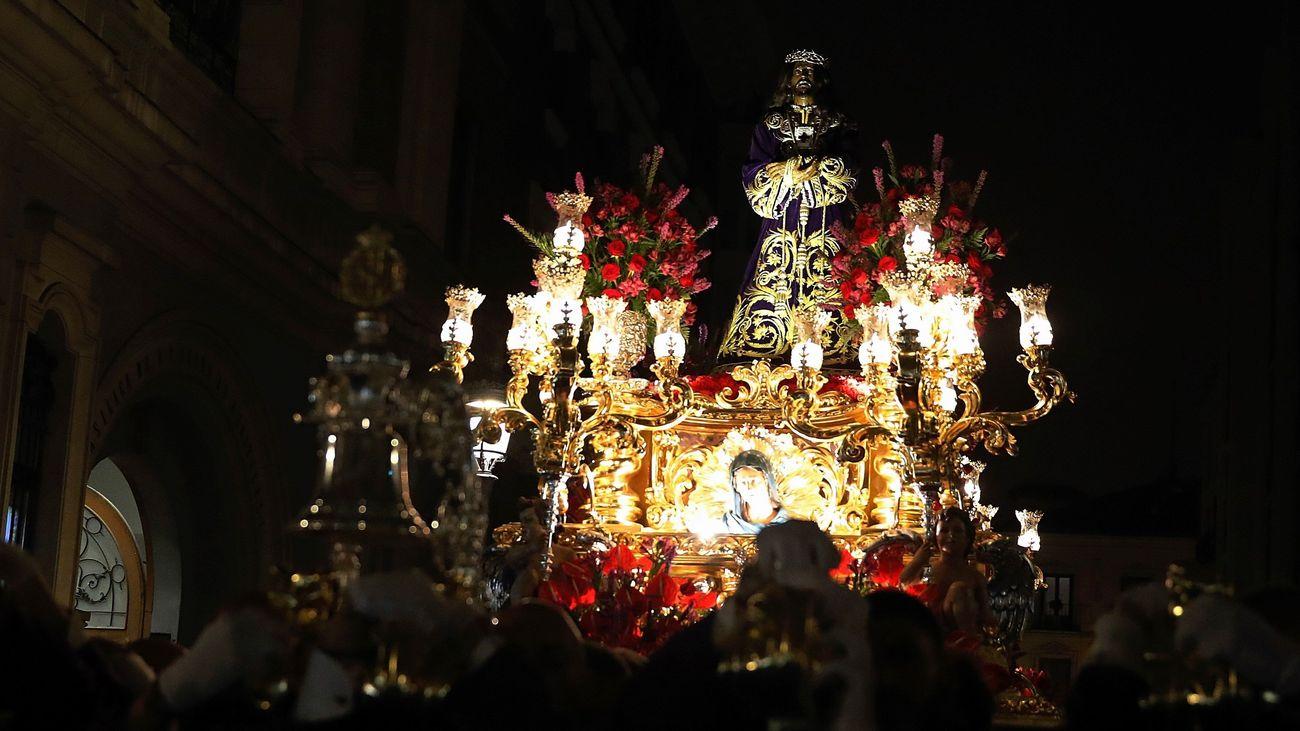 Jesús de Medinaceli finalmente procesionó por Madrid
