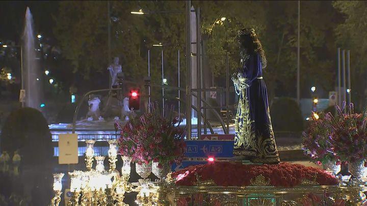 Las mejores imágenes del Viernes Santo en Madrid