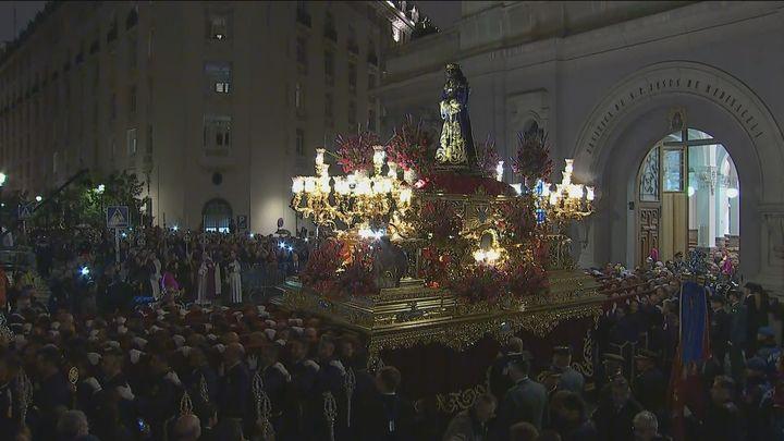 Telemadrid retransmite la procesión de Jesús de Medinaceli por el 80 aniversario de su regreso tras la Guerra Civil