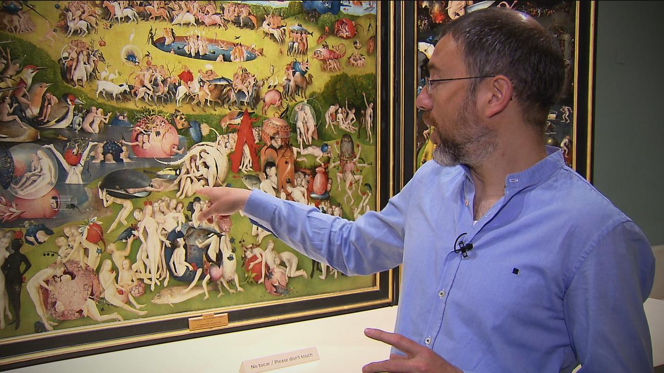Eduardo Barba, el jardinero de las más de mil obras del Museo del Prado
