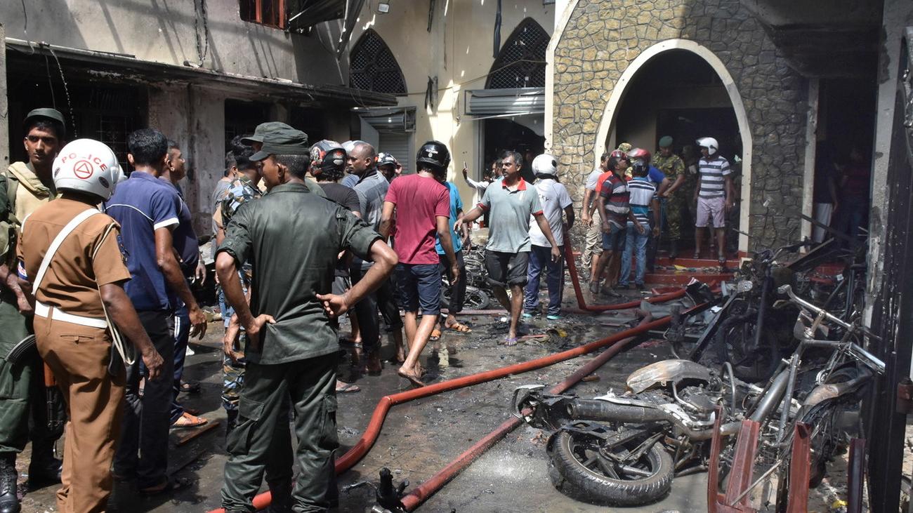 Sri Lanka vive un sangriento Domingo de Resurrección