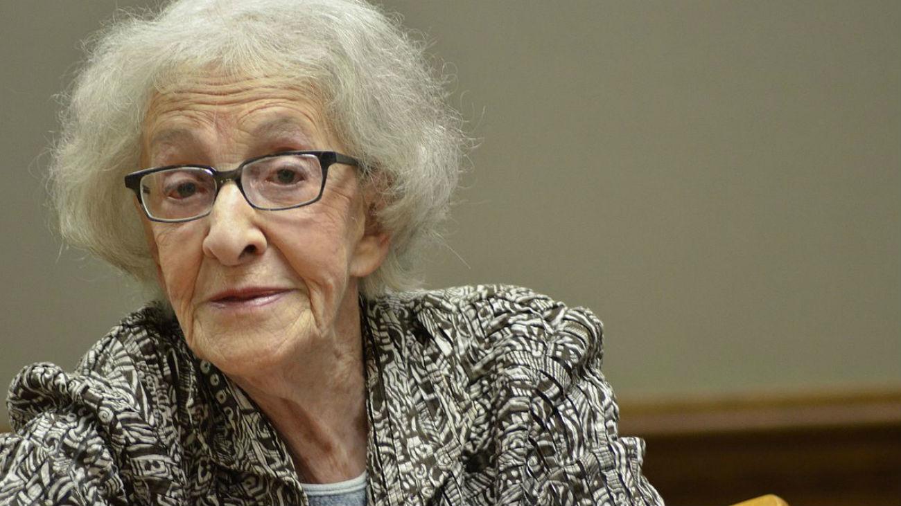 La poeta uruguaya Ida Vitale recibirá este martes el Premio Cervantes