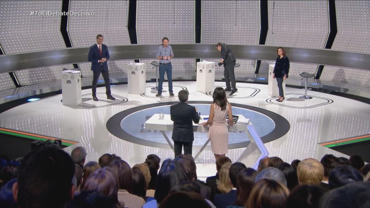 La comunicación no verbal, prueba de fuego de los candidatos en los debates