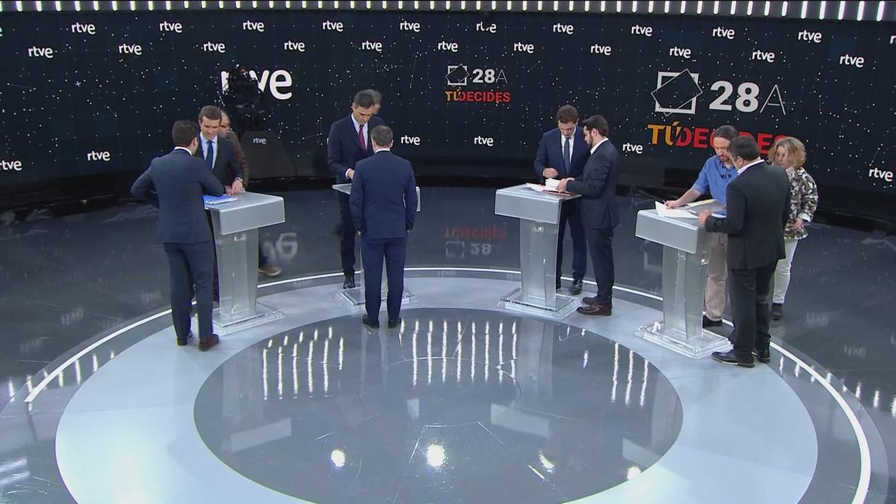 El debate a cuatro, al detalle