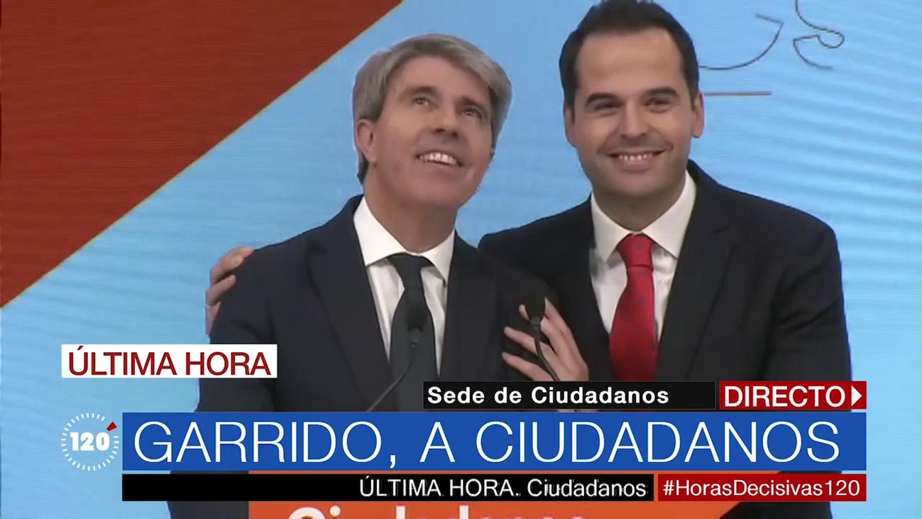 """Ángel Garrido, sobre su fichaje por Ciudadanos: """"Aquí me siento cómodo y querido"""""""