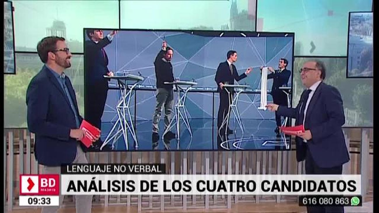 Buenos Días Madrid (8:30 - 10:30) 24.04.2019