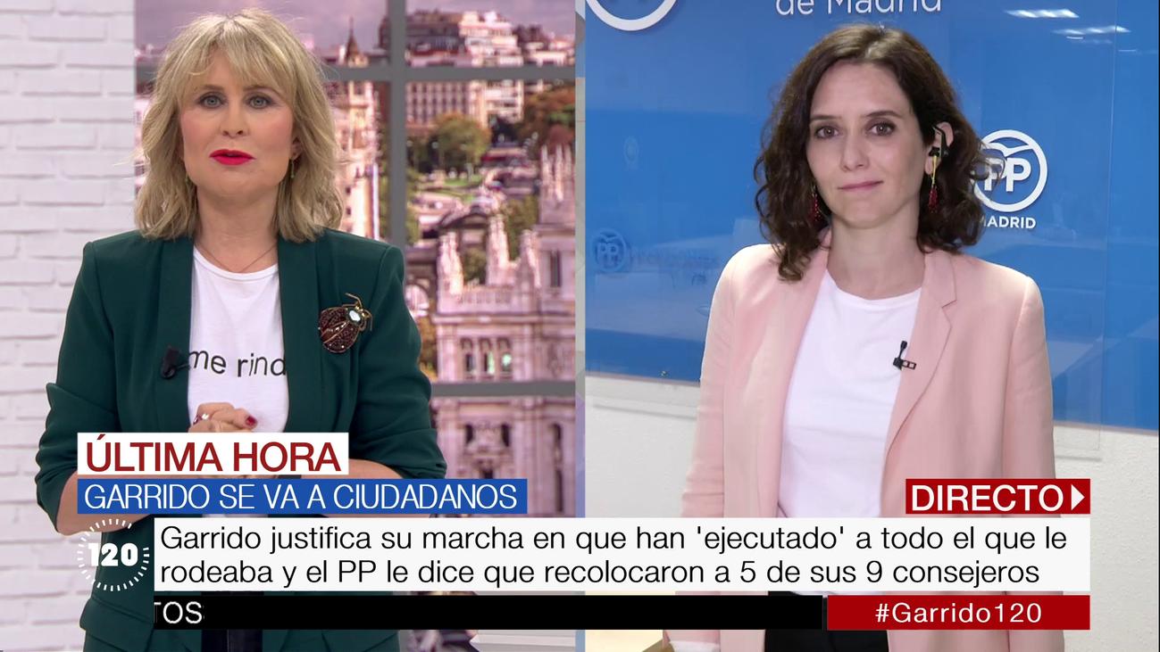 """Díaz Ayuso ve el fichaje de Garrido como """"una puñalada"""" de Albert Rivera a Pablo Casado"""