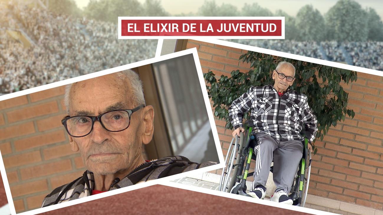 Antonio, el abuelo del Medio Maratón de Madrid