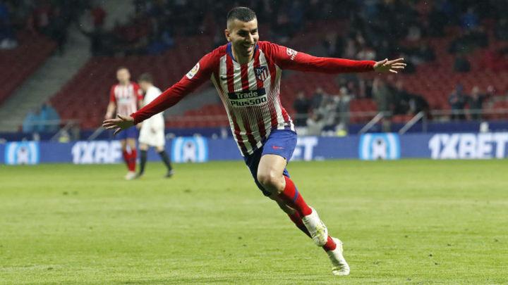 Gol de Correa al Valencia (3-2)