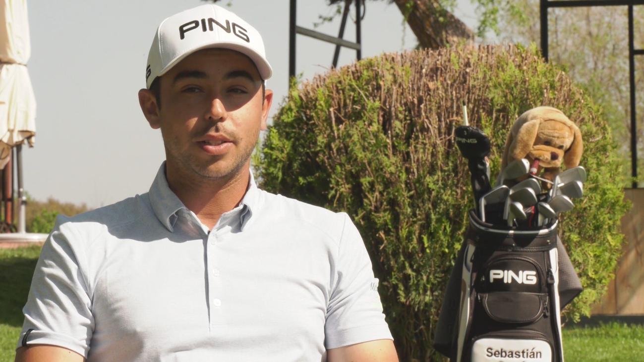 Sebas García, golf en las venas
