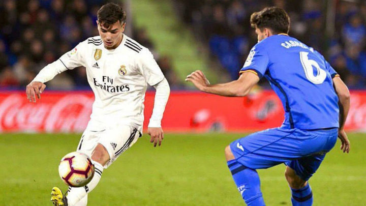 """Zidane: """"Brahim juega bien, no tiene miedo y es rápido"""""""