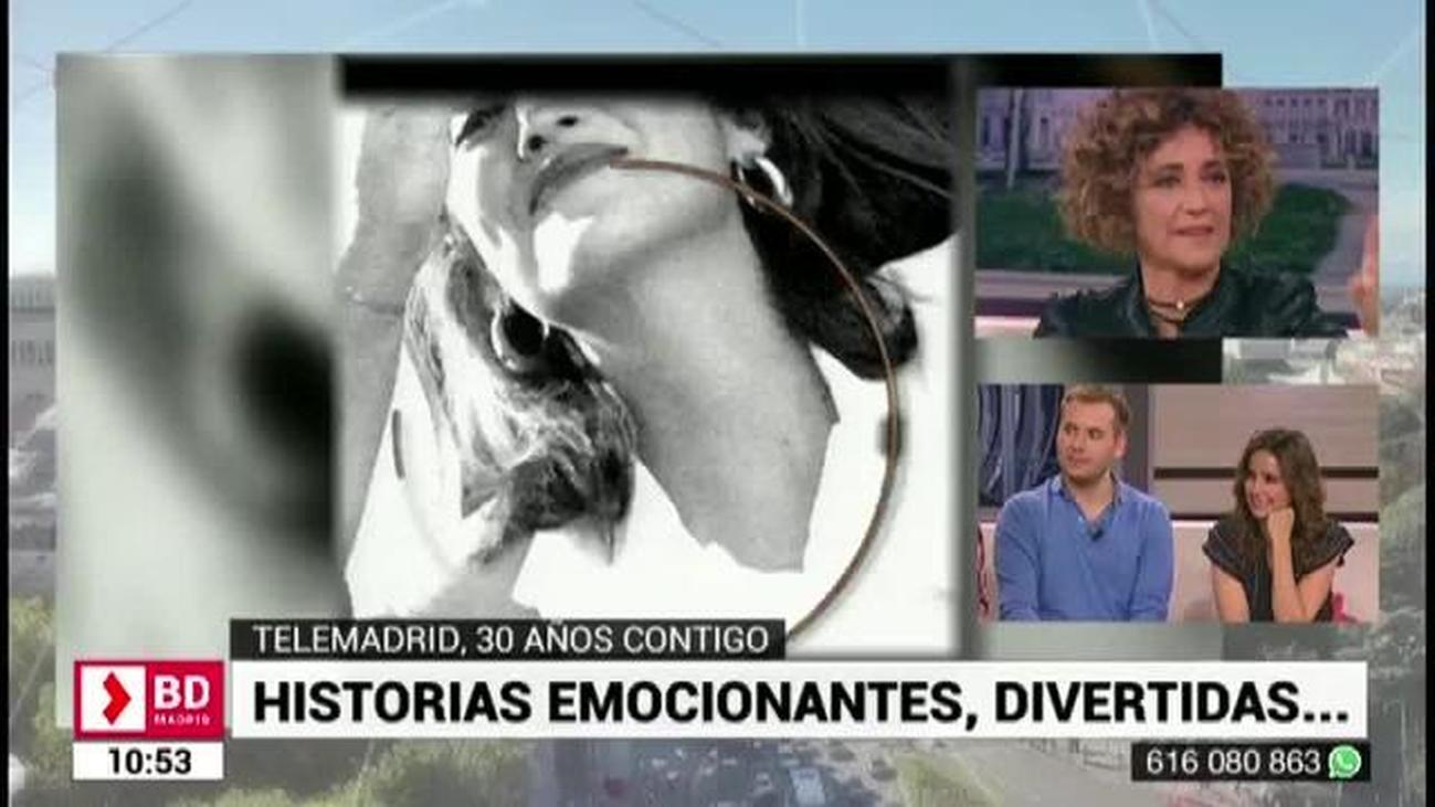 Ana García Lozano recuerda su paso por Telemadrid