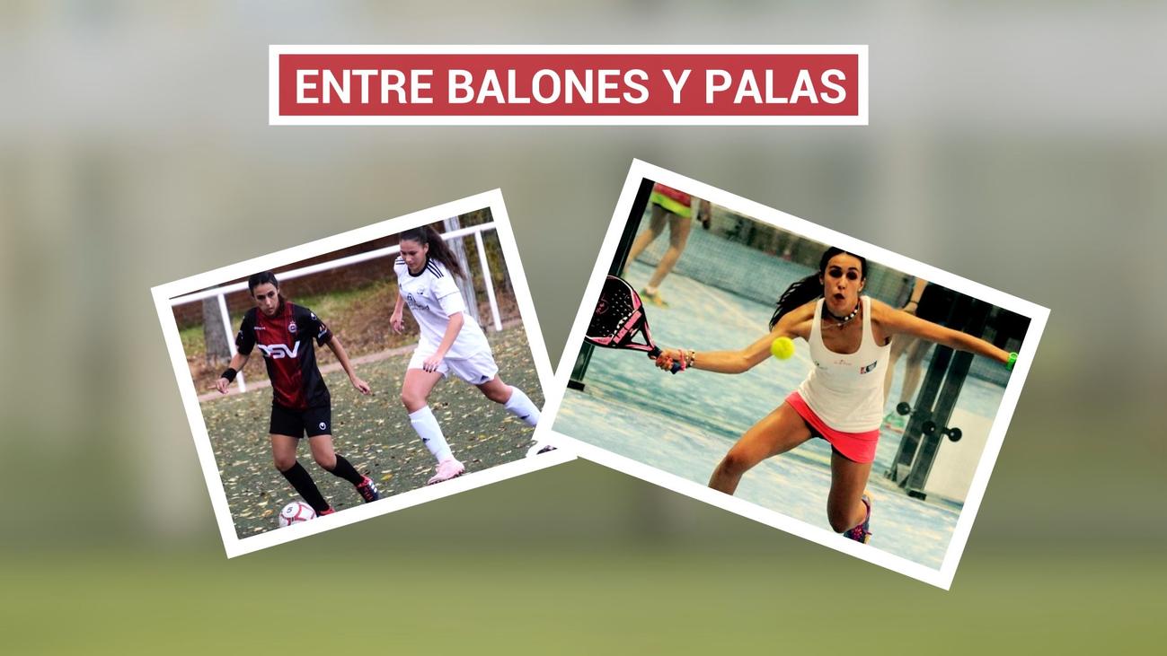 Todoterreno Sara Marcos, juega al futbol y al pádel
