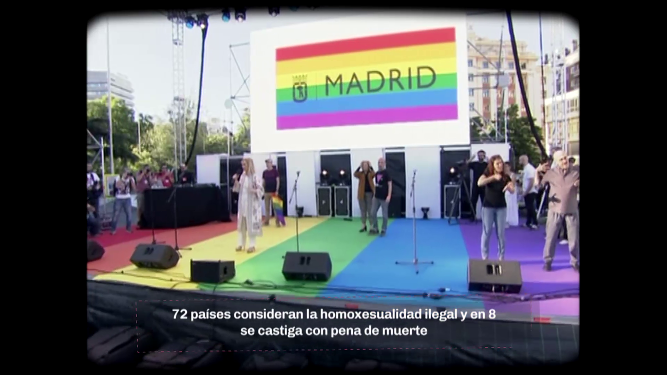 Madrid, capital mundial del amor libre