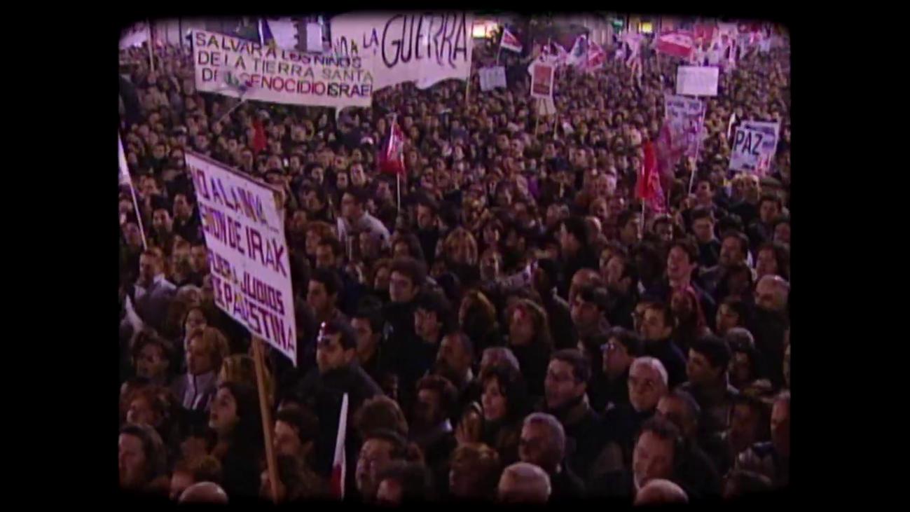 Madrid grita masivamente 'No a la Guerra'
