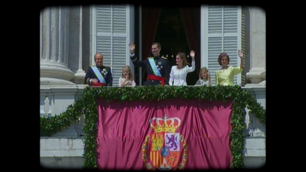 Un nuevo rey es proclamado en Madrid