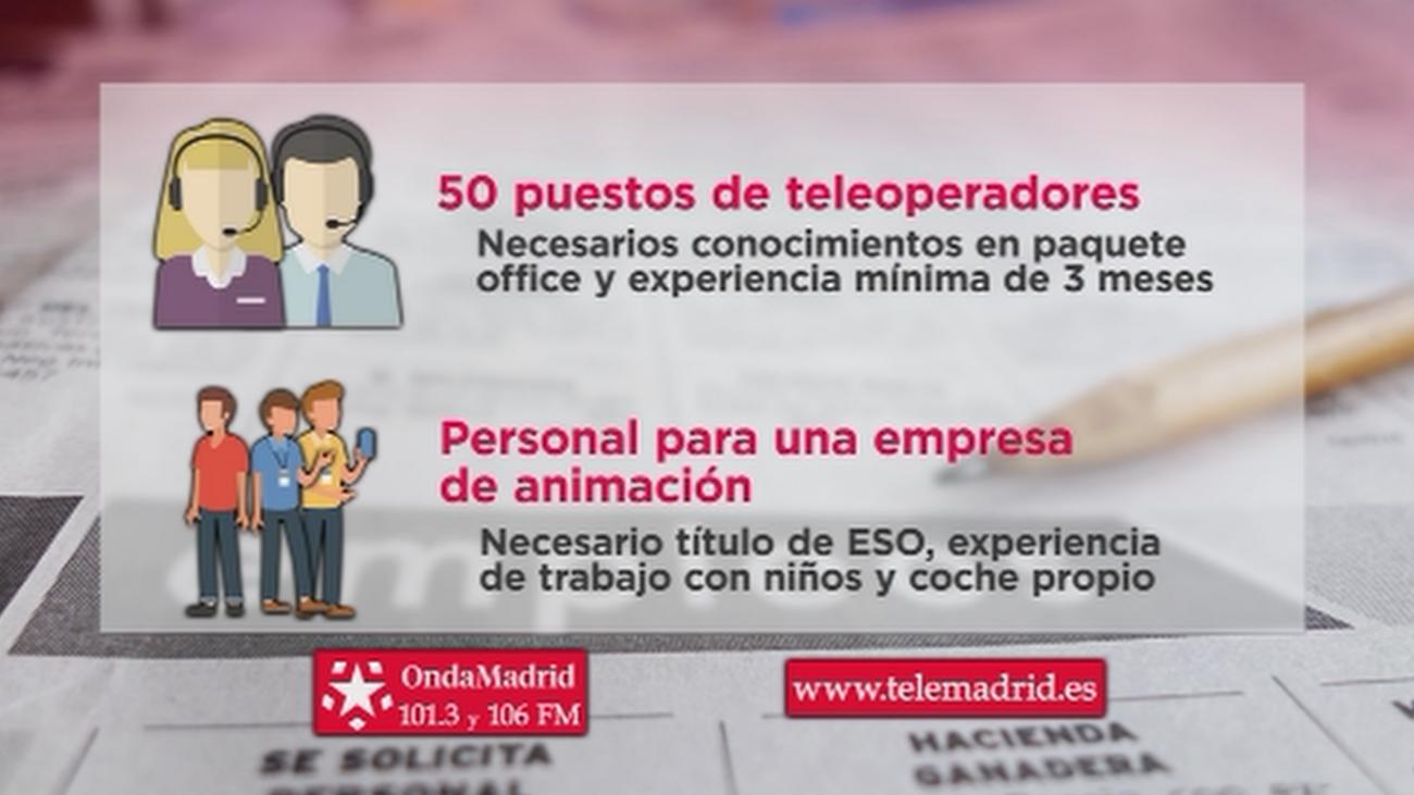 Una empresa de animaciones infantiles busca personal para incorporar en su plantilla