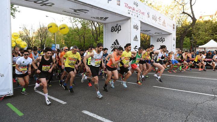 El Maratón de Madrid, en imágenes
