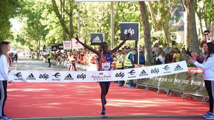 Marcas históricas y más de 35.000 participantes en la Maratón de Madrid