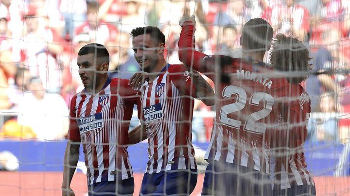 1-0. El Atleti gana al Valladolid con el mínimo esfuerzo