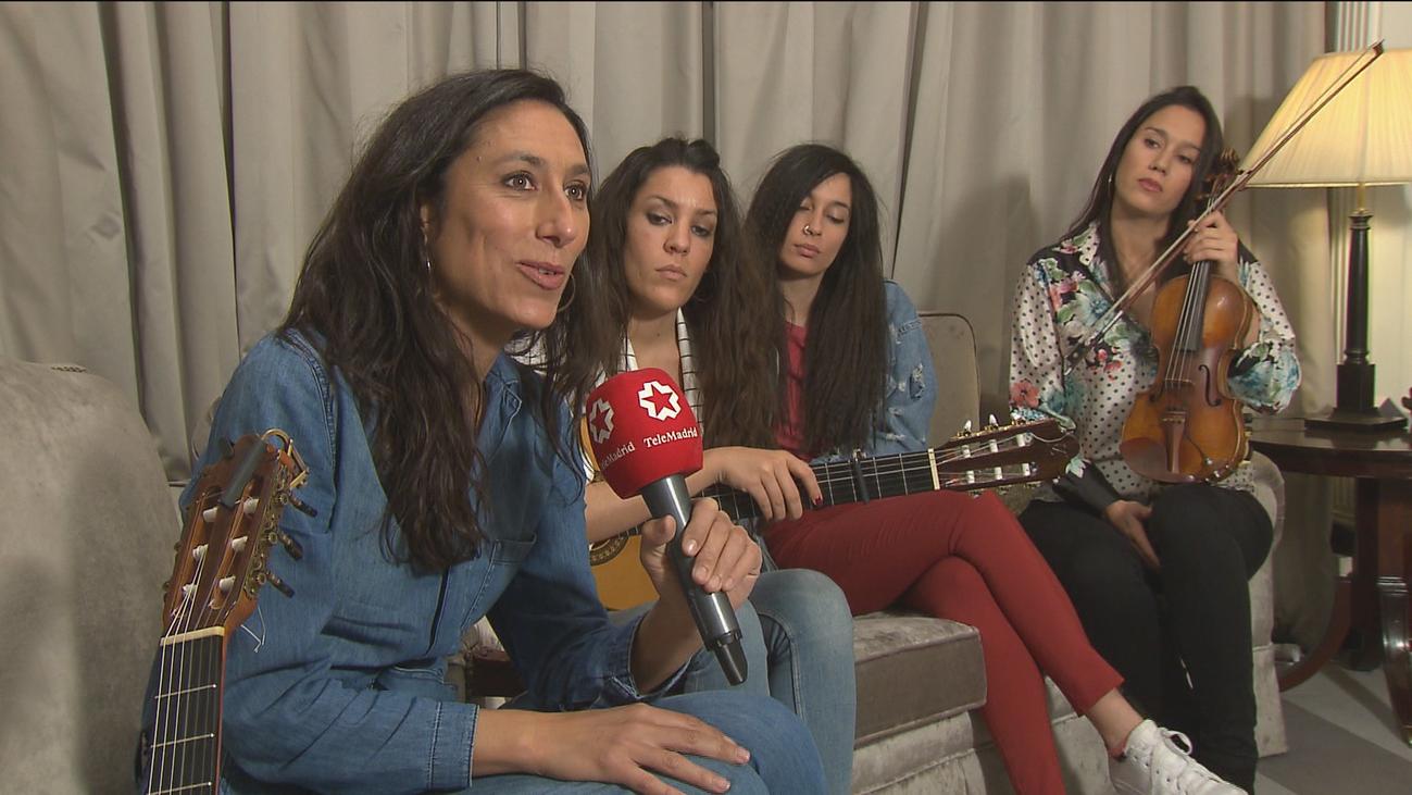 'Las Migas', el grupo que fusiona rumba y flamenco