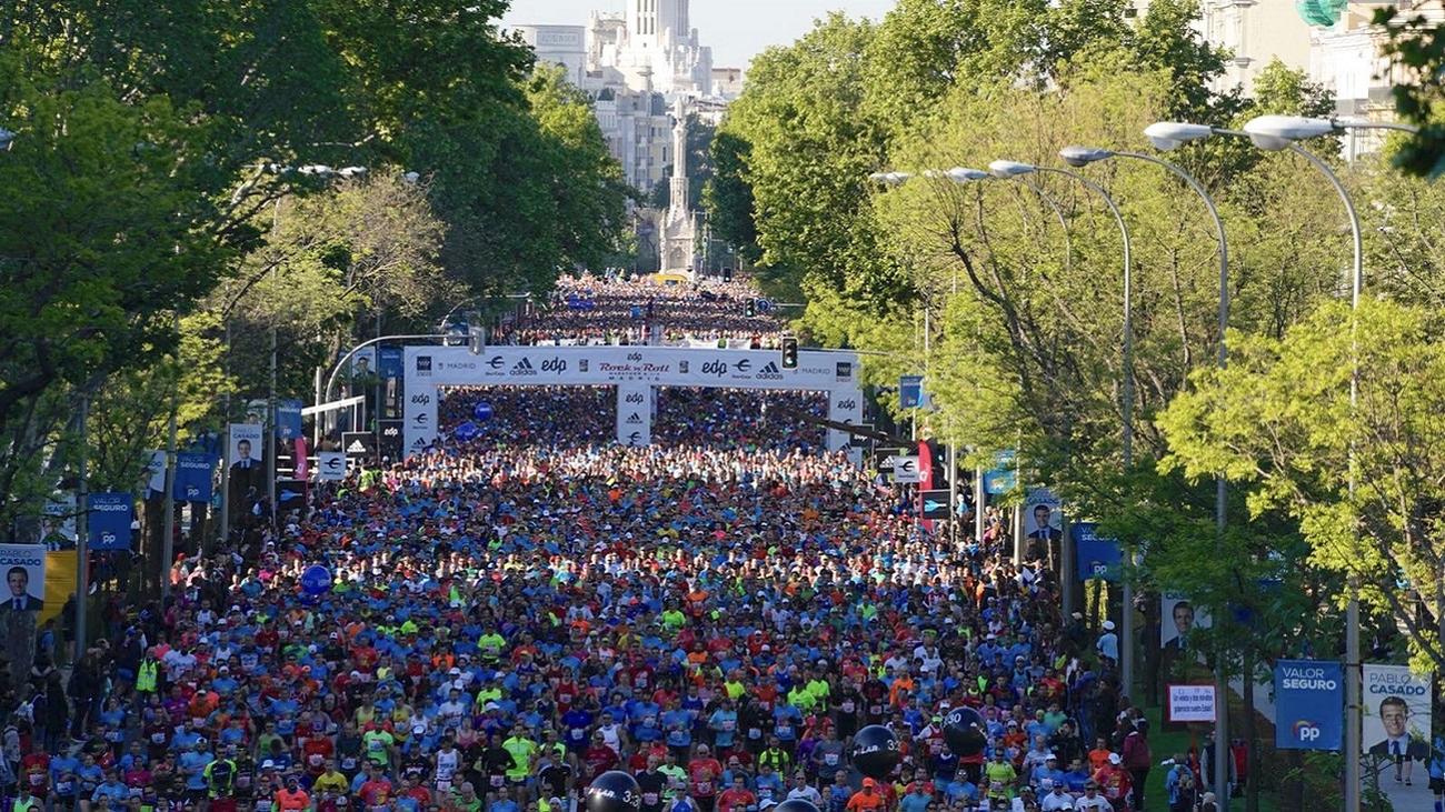 La multitudinaria Maratón convierte a Madrid en capital del atletismo