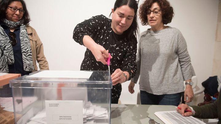 Las elecciones del 28-A, en imágenes