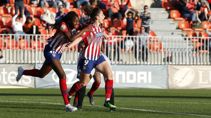 3-0. El Atlético Féminas, a un paso del título tras ganar al Valencia
