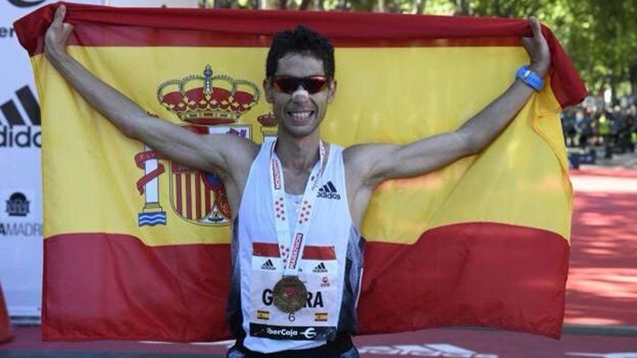 Javi Guerra, el español más rápido en maratón.