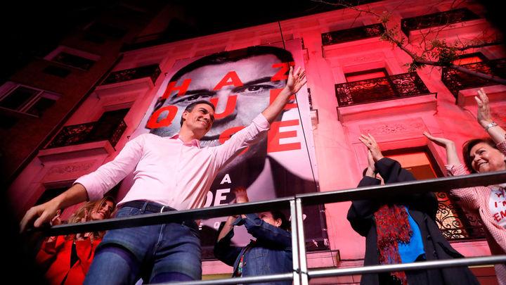 El PSOE vuelve a ser la fuerza más votada en Madrid después de 33 años