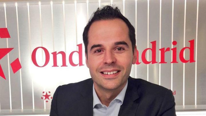 """Ignacio Aguado: """"Si gano no pactaré con el PSOE de Gabilondo, aunque hablaré con todos"""""""