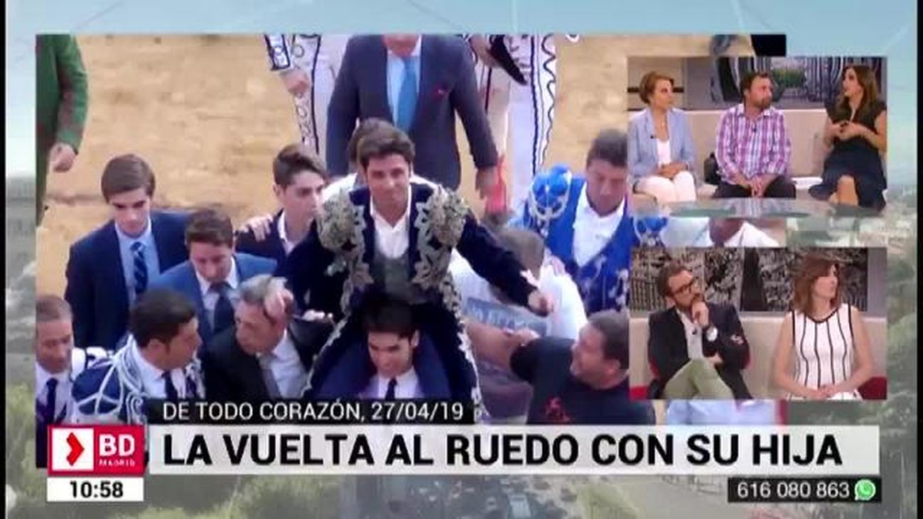 Buenos Días Madrid (10:30 - 11:30)  30.04.2019