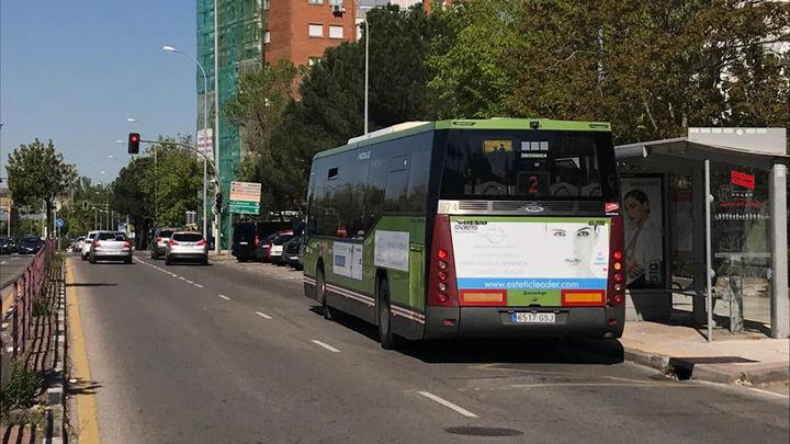 Alcorcón prueba un sistema da prioridad a los autobuses en los semáforos