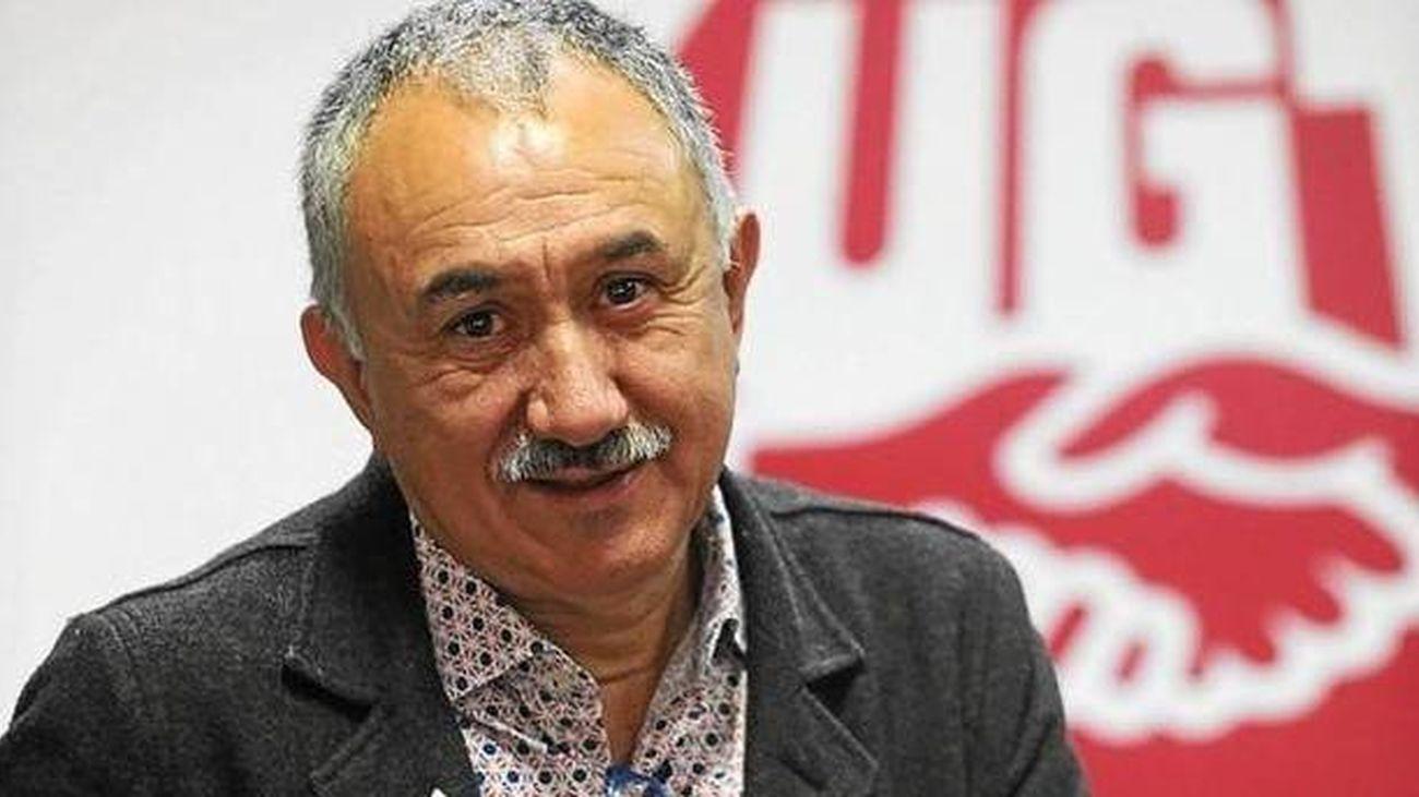 """Pepe Álvarez: """"Hay que conformar un polo social que sea capaz de defender esas políticas, no sólo votando en las elecciones sino en el día a día"""""""