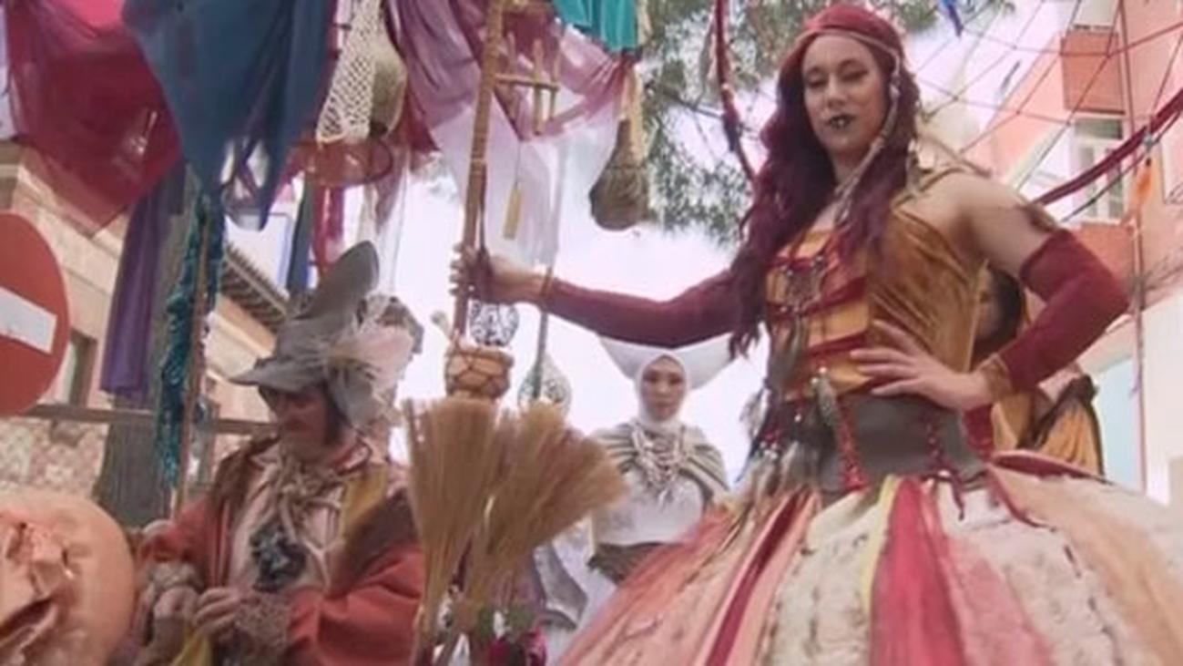 Comienza la Gran Feria Medieval de El Álamo con pasacalles, cetrería y gastronomía
