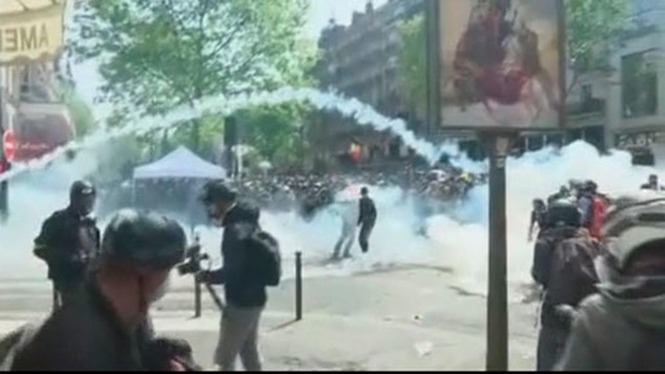 Tres españoles detenidos en los graves disturbios de los 'chalecos amarillos' en Francia