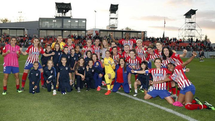 El Atlético Femenino, a un paso de su tercera Liga