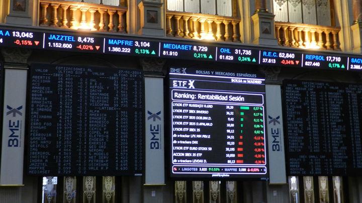 El Ibex 35 se hunde un 3,8% y cierra en 6.839 puntos
