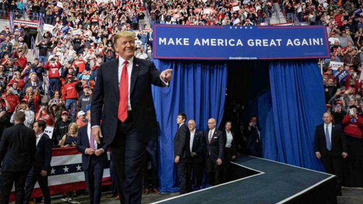 Trump y los demócratas inician en Florida la carrera presidencial de 2020