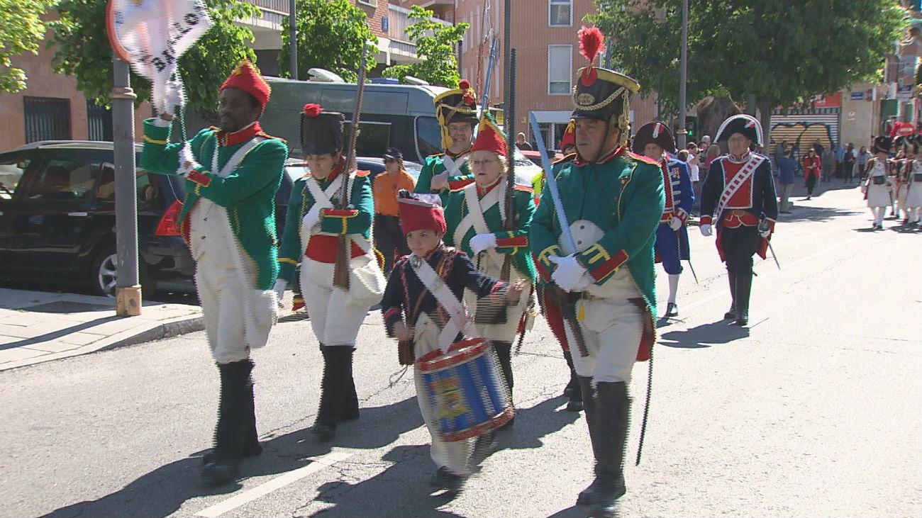Móstoles rinde tributo a los héroes de la independencia